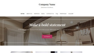 Uptown Style Granite Supplier WordPress Theme