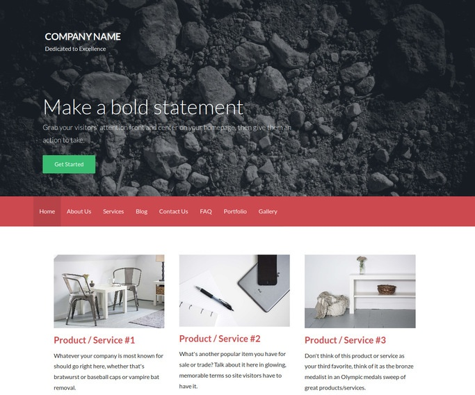 Activation Gravel WordPress Theme