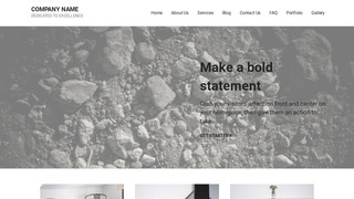 Mins Gravel WordPress Theme
