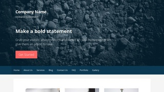 Primer Gravel WordPress Theme