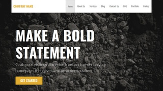 Stout Gravel WordPress Theme
