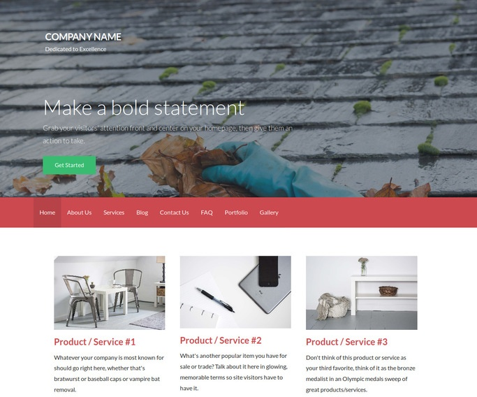 Activation Gutter Cleaning Service WordPress Theme