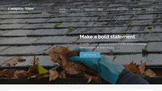 Lyrical Gutter Cleaning Service WordPress Theme