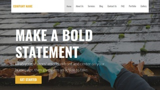 Stout Gutter Cleaning Service WordPress Theme