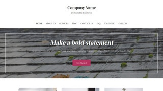Uptown Style Gutter Cleaning Service WordPress Theme