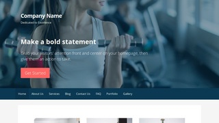 Primer Gym WordPress Theme
