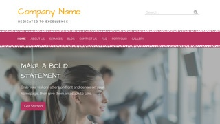 Scribbles Gym WordPress Theme