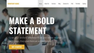 Stout Gym WordPress Theme