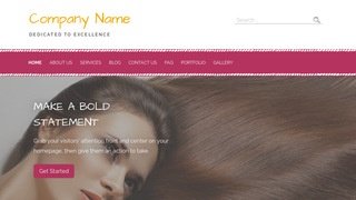 Scribbles Hair Extensions WordPress Theme
