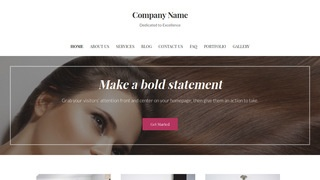 Uptown Style Hair Extensions WordPress Theme