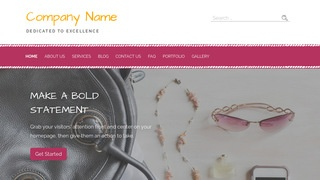 Scribbles Handbags WordPress Theme