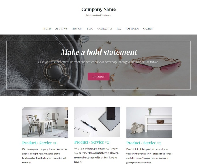Uptown Style Handbags WordPress Theme