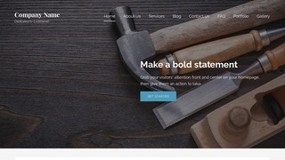 Lyrical Hardware Store WordPress Theme
