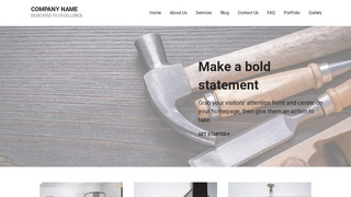 Mins Hardware Store WordPress Theme