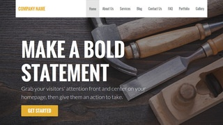 Stout Hardware Store WordPress Theme