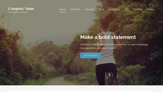 Lyrical Health Club WordPress Theme