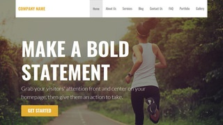 Stout Health Club WordPress Theme