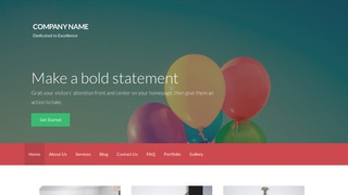 Activation Helium Gas WordPress Theme