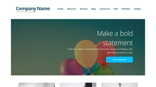 Ascension Helium Gas WordPress Theme