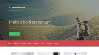 Activation Hiking WordPress Theme