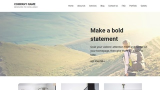 Mins Hiking WordPress Theme