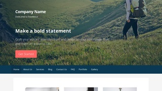 Primer Hiking WordPress Theme