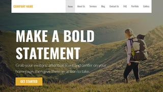 Stout Hiking WordPress Theme