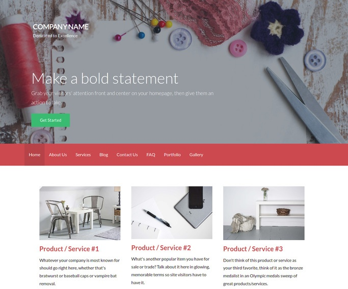 Activation Hobby Shop WordPress Theme