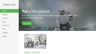 Escapade Hockey WordPress Theme