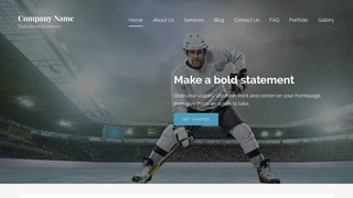 Lyrical Hockey WordPress Theme