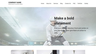 Mins Hockey WordPress Theme