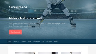 Primer Hockey WordPress Theme