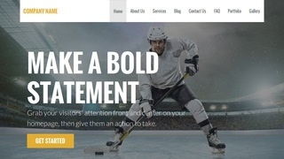 Stout Hockey WordPress Theme