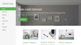 Escapade Home and Garden Store WordPress Theme
