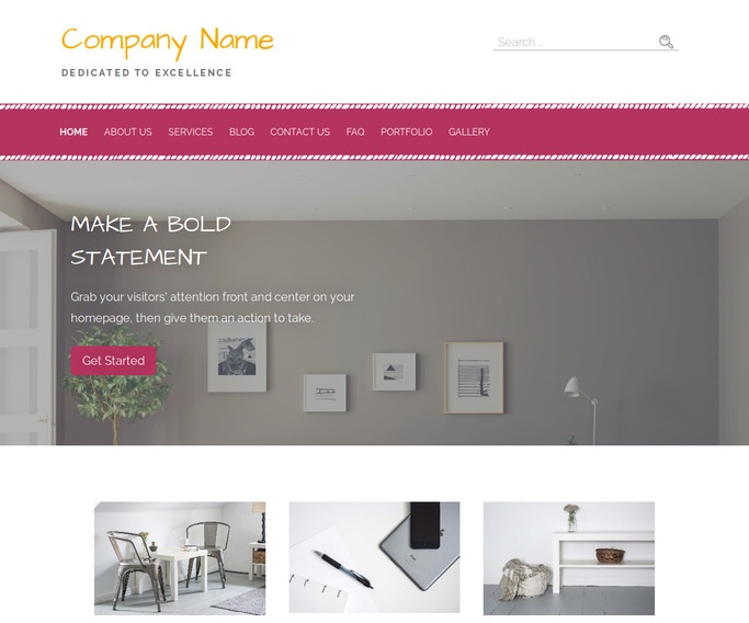 Scribbles Home and Garden Store WordPress Theme