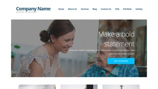 Ascension Home Health Care WordPress Theme