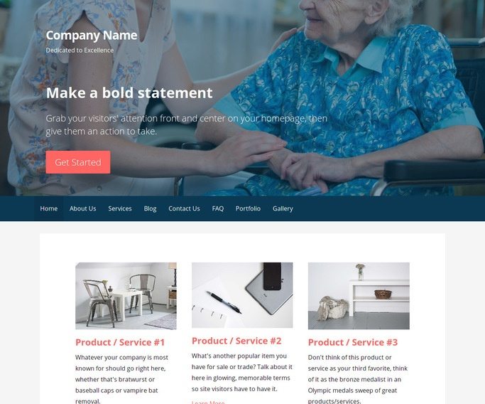 Primer Home Health Care WordPress Theme