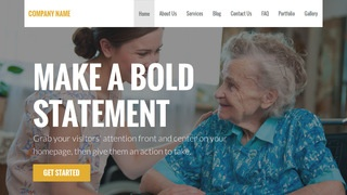 Stout Home Health Care WordPress Theme