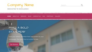 Scribbles Home Security WordPress Theme