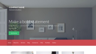 Activation Home Service WordPress Theme