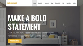 Stout Home Service WordPress Theme
