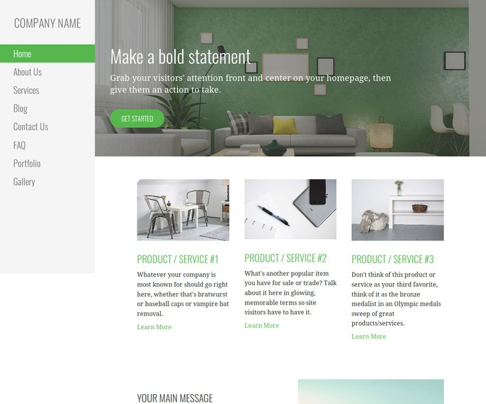 Escapade Home Staging WordPress Theme