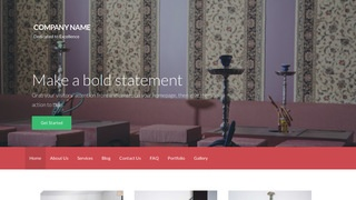 Activation Hookah Bar WordPress Theme