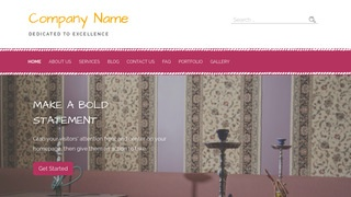 Scribbles Hookah Bar WordPress Theme