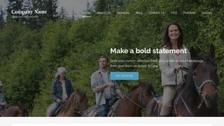 Lyrical Horse Rentals WordPress Theme