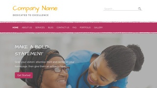 Scribbles Hospice WordPress Theme