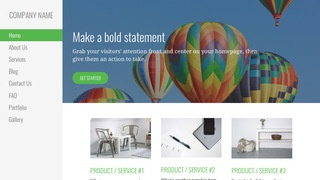 Escapade Hot Air Balloons WordPress Theme