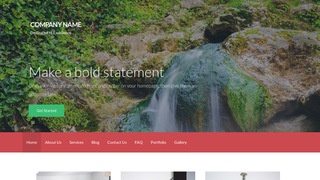 Activation Hot Spring WordPress Theme