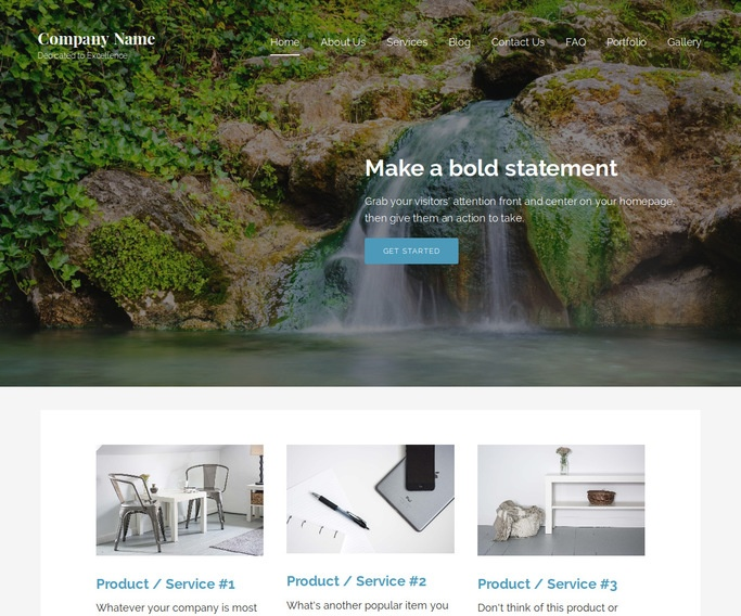 Lyrical Hot Spring WordPress Theme