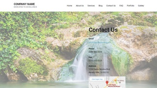 Mins Hot Spring WordPress Theme